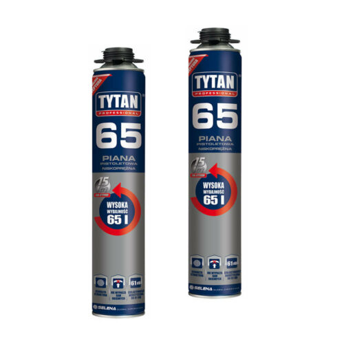 Piana pistoletowa 65 TYTAN 750ml