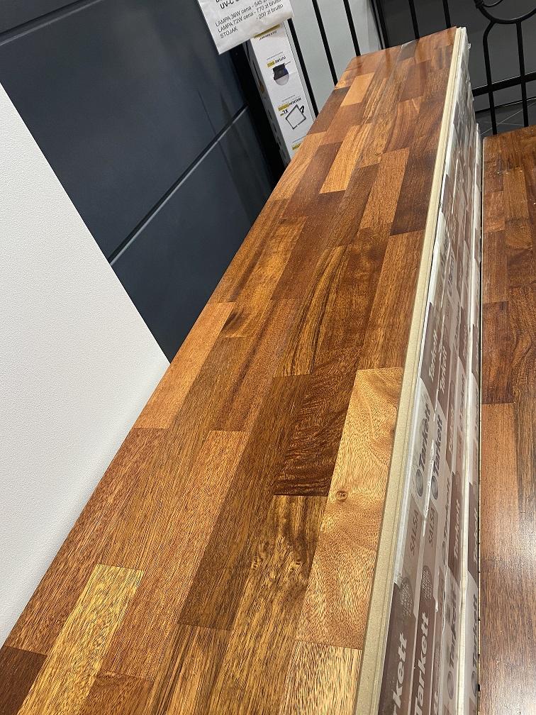 Parkiet drewniany deska barlinecka Dąb Bravo 19cm x 251cm Tarkett Salsa